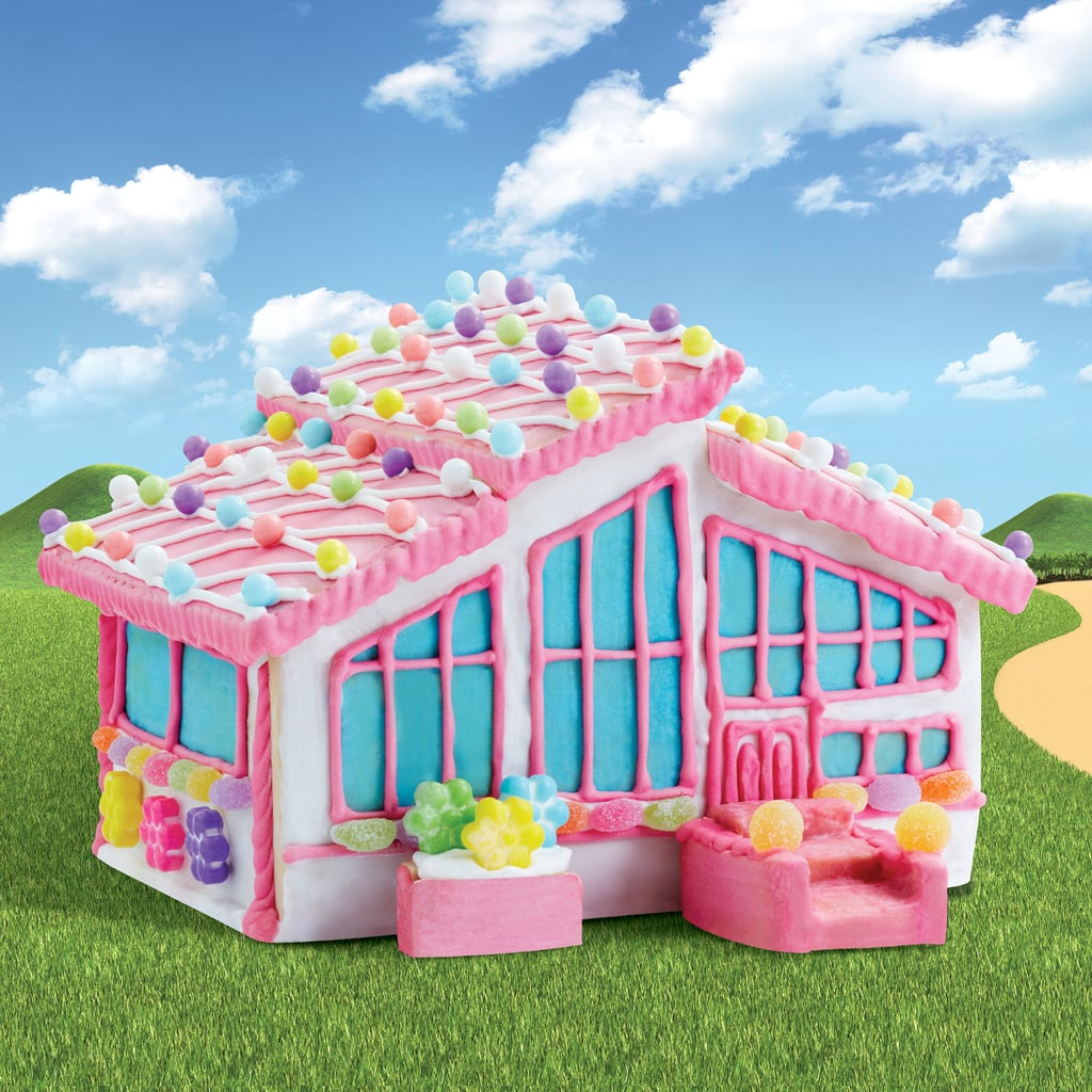 The Finished Barbie Dreamhouse Cookie Kit
