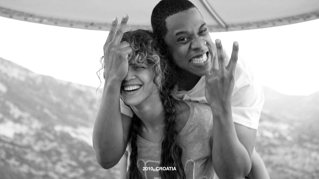 We've watched Beyoncé and JAY-Z grow together in the spotlight since they tied the knot in 2008 after four years of dating. They welcomed their daughter Blue Ivy Carter in 2012, and added twins Sir and Rumi to their family in 2017. As time has passed, we've seen plenty of glimpses of their love in the form of warm hugs, quick kisses, and steamy onstage performances — and we've also been privy to details about the rough patches in their relationship on their recent albums, Lemonade and 4:44. Like any other couple, Beyoncé and JAY-Z have weathered storms and come out on the other side, seemingly stronger than ever. They're ringing in their tenth wedding anniversary and even embarking on another joint tour later this year. To celebrate their milestone, we're looking back on their cutest pictures over the years.      Related:                                                                                                           Beyoncé and Jay Z: A Detailed Timeline of Their Private Yet Prominent Romance
