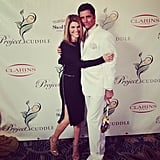 """Lori: """"At fabulous @project_cuddle event with my bud @johnstamos!!"""""""