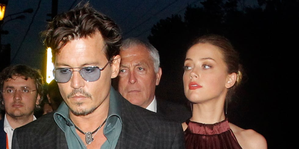 Johnny Depp and Amber Heard in Moscow   Video