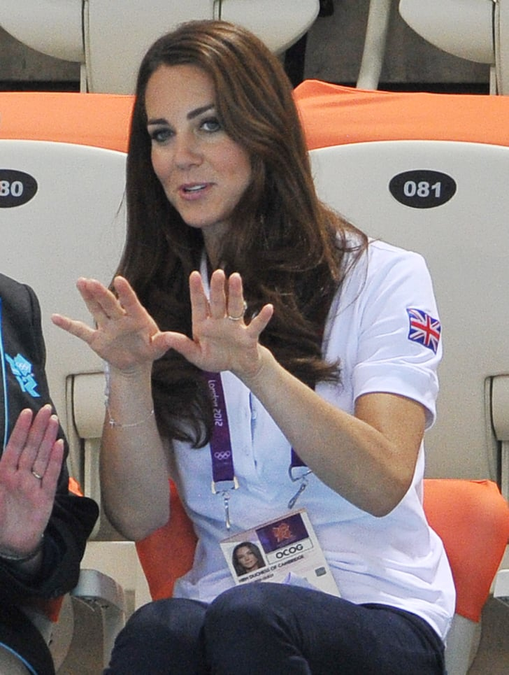Swimming Does Kate Middleton Play Sports Popsugar