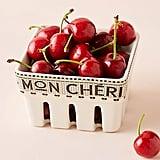 Mon Cheri Bistro Tile Berry Basket