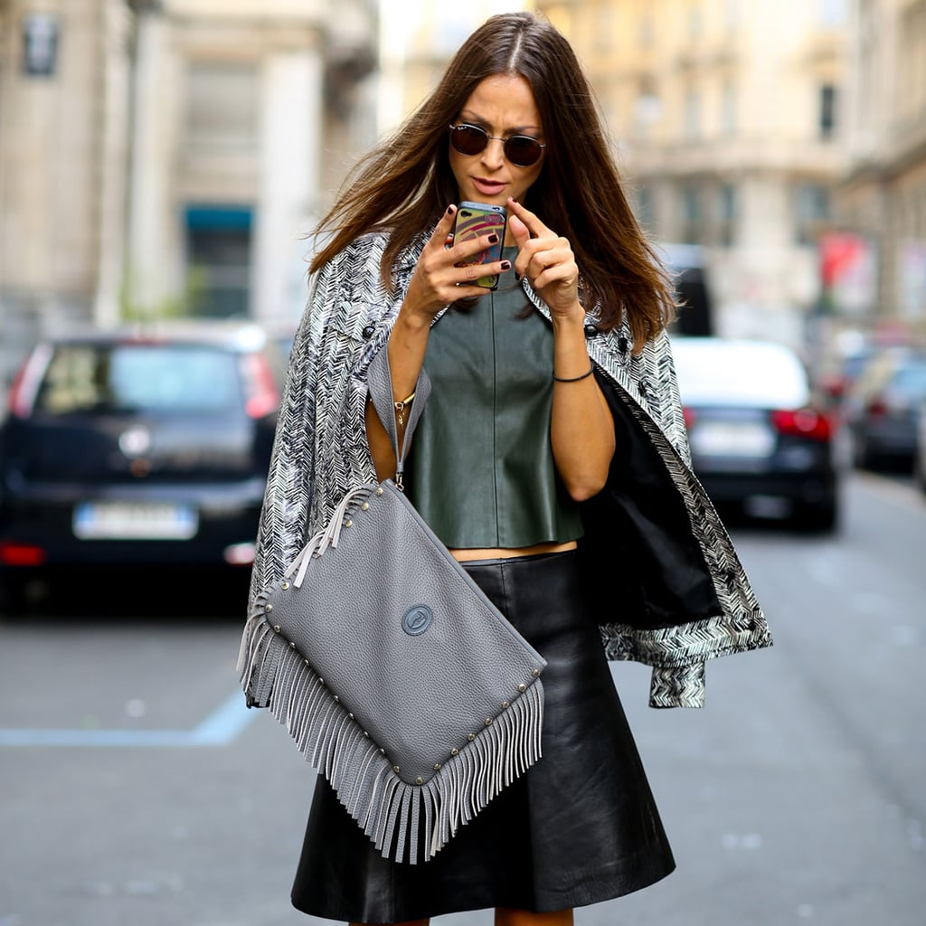 Leather Styling Tips Inspired by Street Style