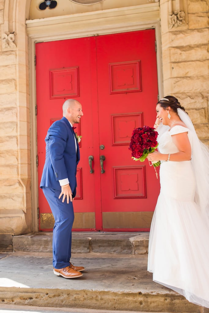 Chad and Michele had their fairy-tale wedding in Canton, OH, which included subtle details from Disney's Beauty and the Beast, Michele's favorite. See the wedding here!