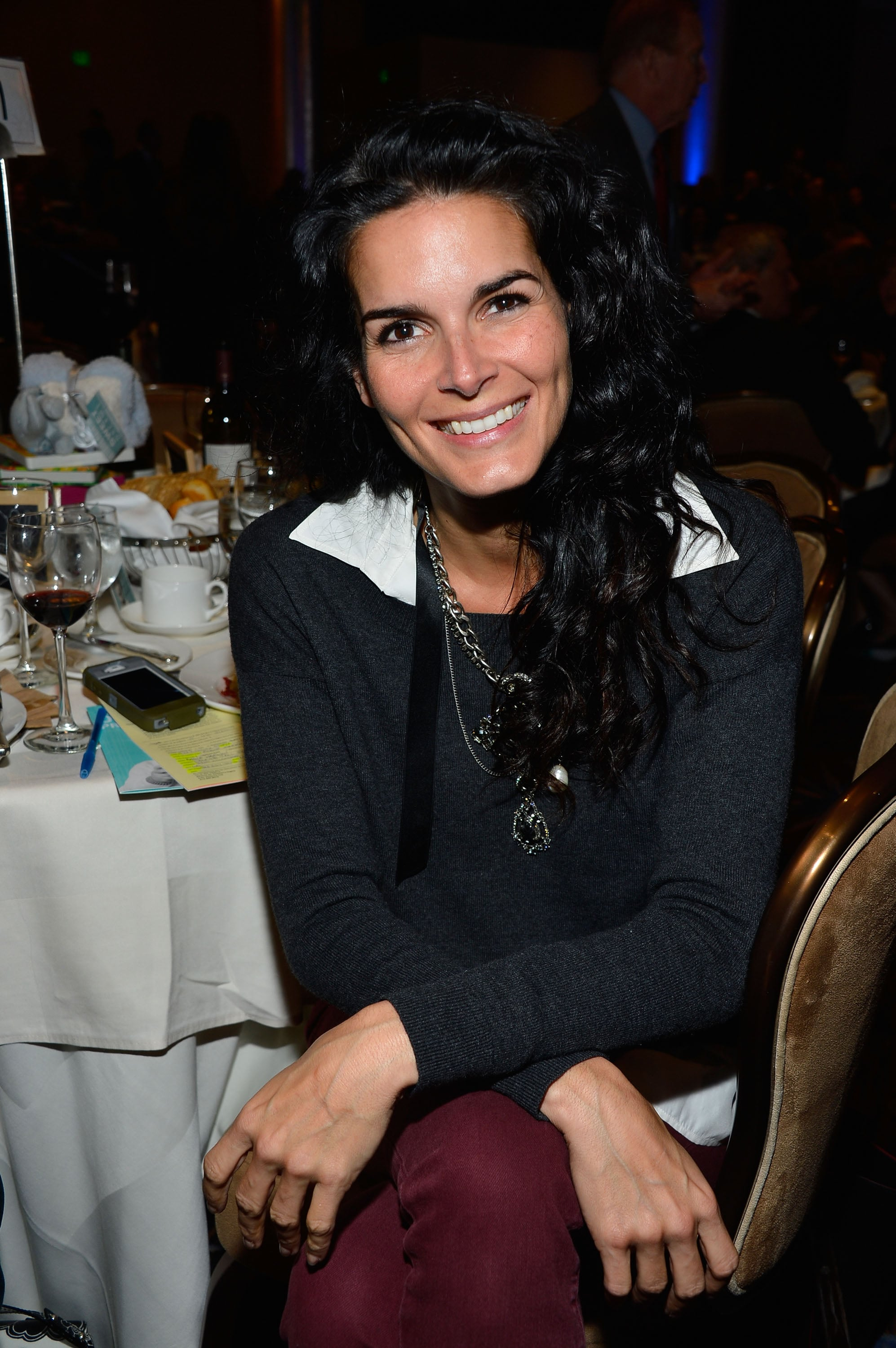 Angie Harmon attended the dinner.