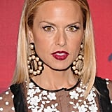 Rachel Zoe went for a deep red lip.