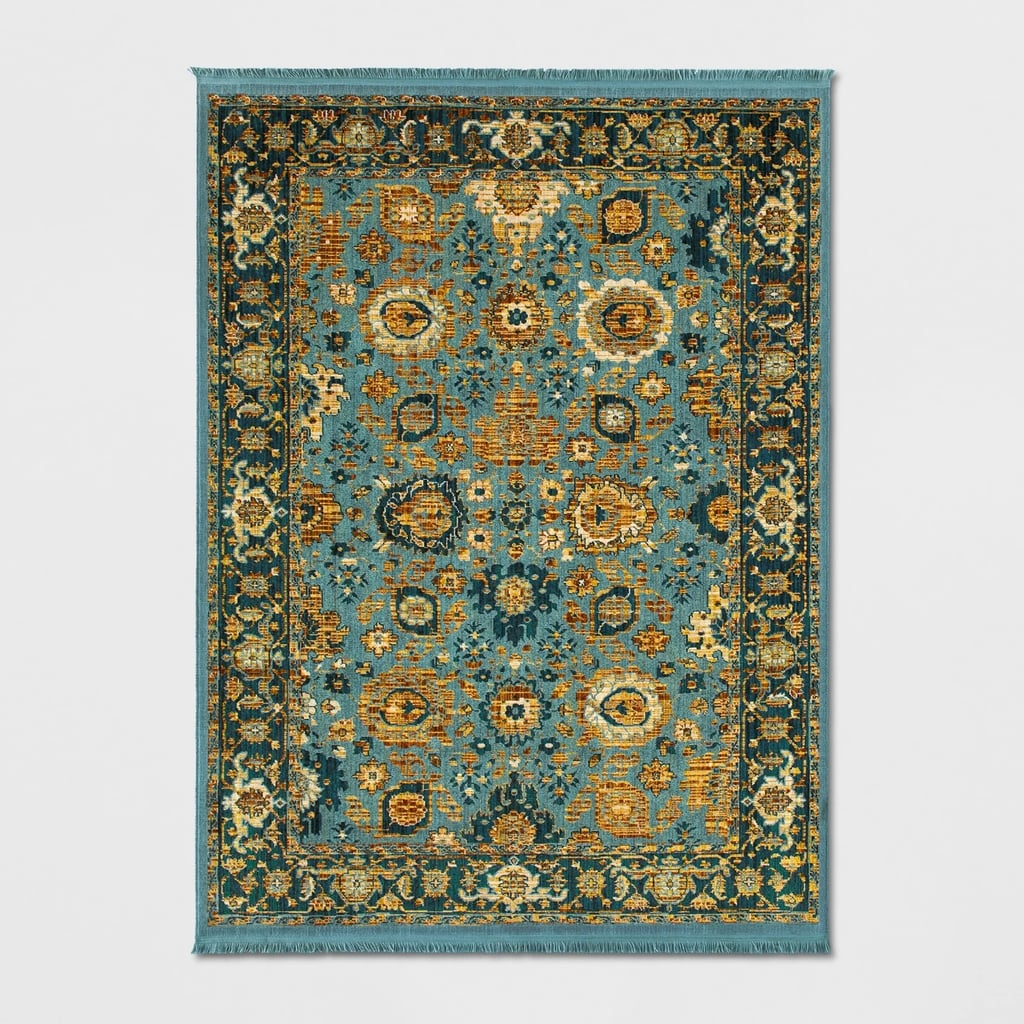 Persian With Fringe Border Woven Rug