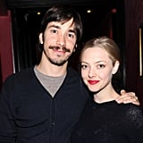 Amanda Seyfried and Justin Long made their first joint event appearance and hung out with friends at the LAByrinth Theater Company's annual celebrity charades benefit in NYC on Monday.