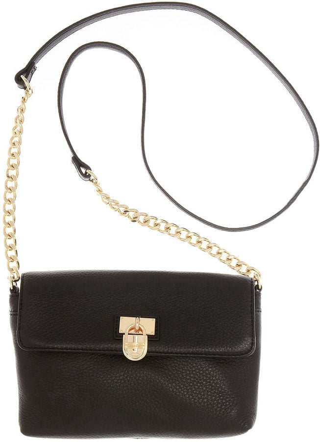 a683b4f856 Calvin Klein Modena Leather Flap Crossbody | Best Everyday Bags and ...