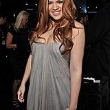 Khloé Kardashian With Copper Hair in 2011