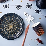 Little Ella James Halloween Skeleton Straws