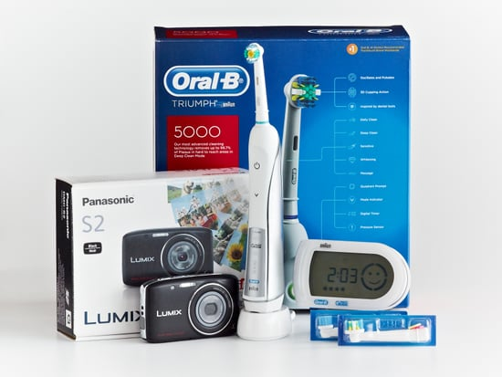 WIN an Oral-B Triumph Electric Toothbrush and a Panasonic Lumix S2 Digital Camera