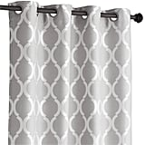 "Pier 1 Imports Moorish Tile Curtain — Gray 108"" ($55)"