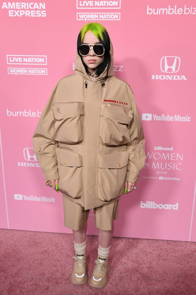 Billie Eilish's Outfit Has 4 Very Large Pockets, and I Want to Know What's in Them