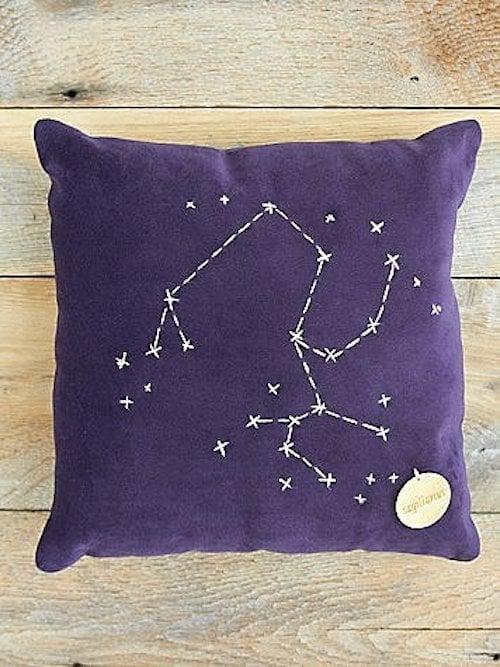 Sagittarius Star Sign Pillow ($98)