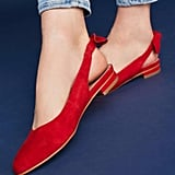 Anthropologie Slingback Flats