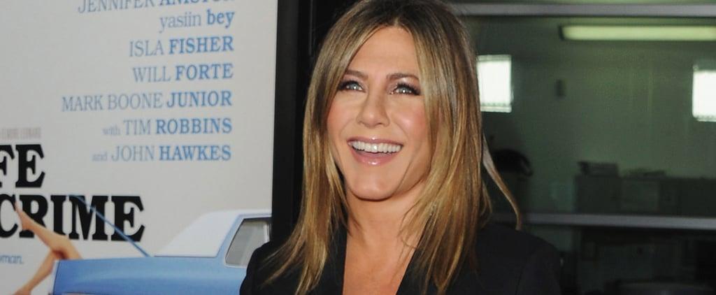 "Jennifer Aniston: I Didn't Take My Fiancé's Ice Bucket Challenge ""as Elegantly"" as Hoped"