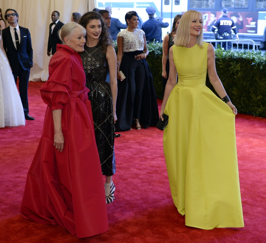 It was a family affair for Vanessa Redgrave, her daughter Joely Richardson, and her granddaughter Daisy Bevan.