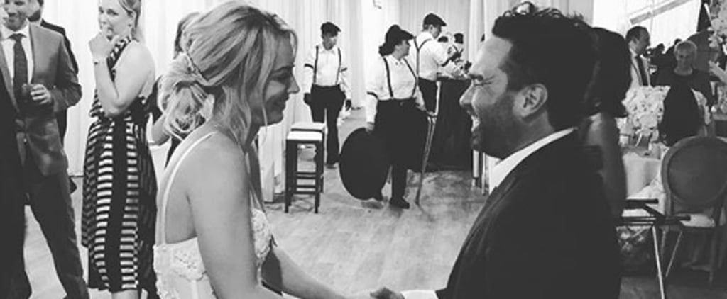 Johnny Galecki at Kaley Cuoco and Karl Cook's Wedding