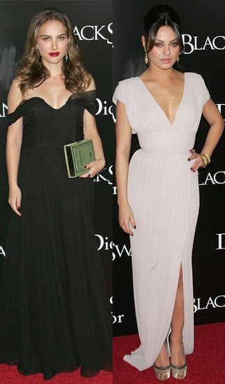 Pictures of Natalie Portman and Mila Kunis at Black Swan New York Premiere