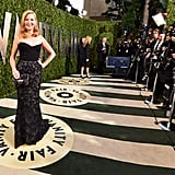 Jennifer Westfeldt arrived at the Vanity Fair Oscar party on Sunday night.