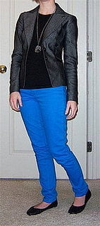 Look of the Day: Electric Blue