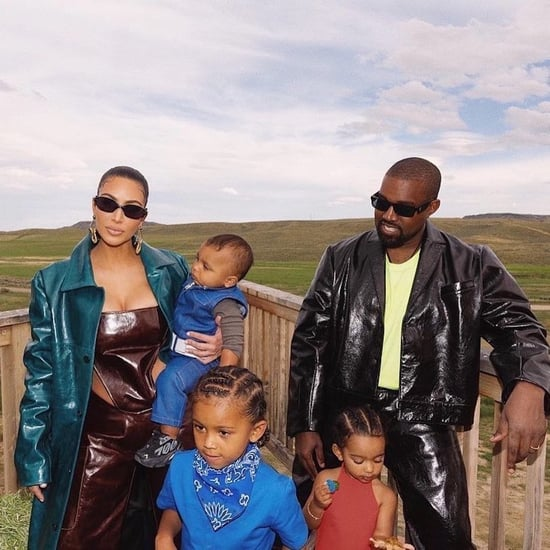 Kim Kardashian and Kanye West's Family Father's Day Outfits