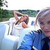 Reese took a windy selfie with her Hot Pursuit costar Sofia Vergara.