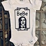 """Schitt's Creek Moira Rose """"Bebe"""" Baby Snapsuit"""