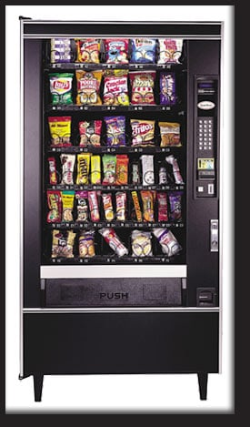 Vending Machine Killed the Health Food Nut