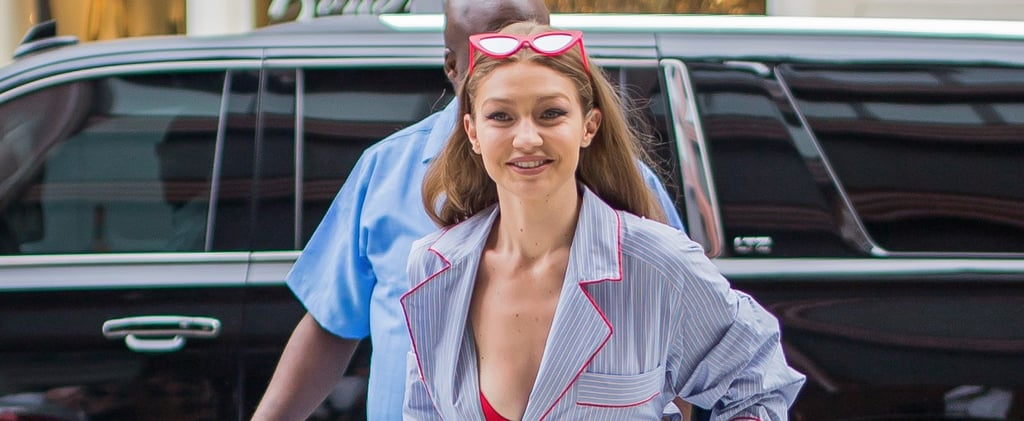 You're Probably Not Wearing Your Pajamas Like Gigi Hadid Today