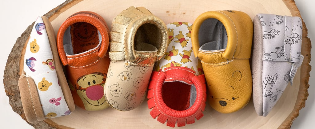 Introduce Your Child to the Hundred Acre Wood Crew With These Insanely Adorable Moccasins