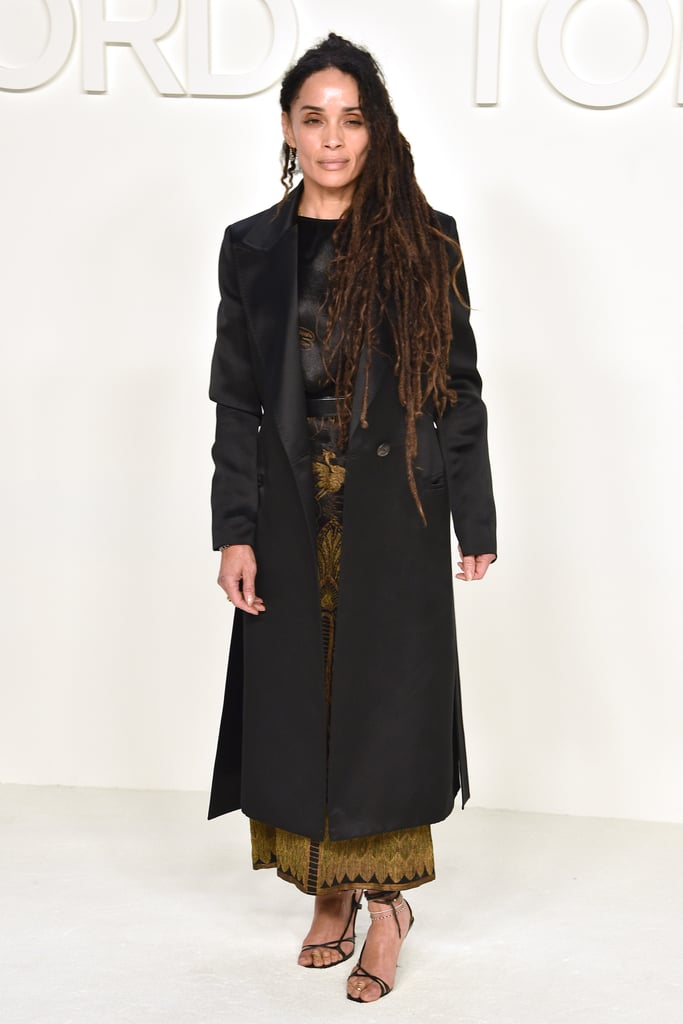Lisa Bonet at the Tom Ford Fall 2020 Show