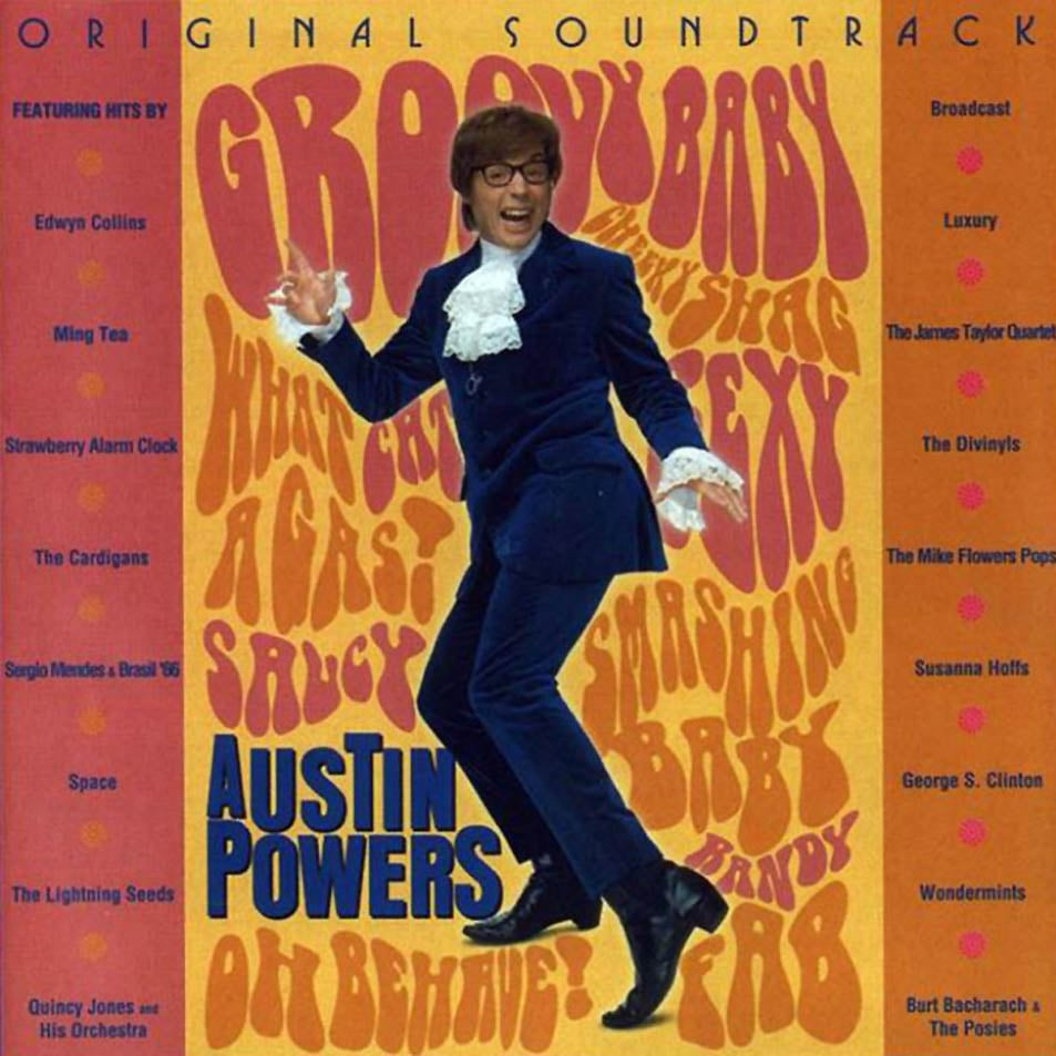 Austin Powers (1997) | Best '90s Movie Soundtracks | POPSUGAR