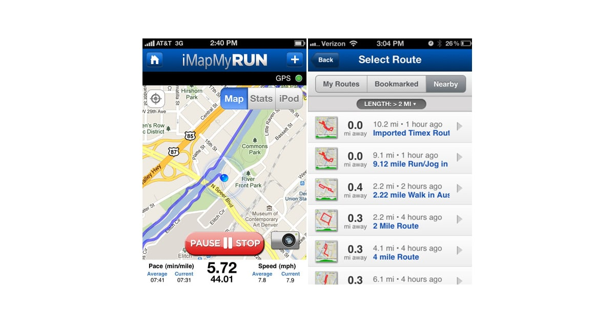 MapMyRun | Hit the Road: 6 Running Apps For Newbies ... on