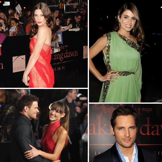 Celebrity Arrivals at Breaking Dawn Part 1 LA Premiere