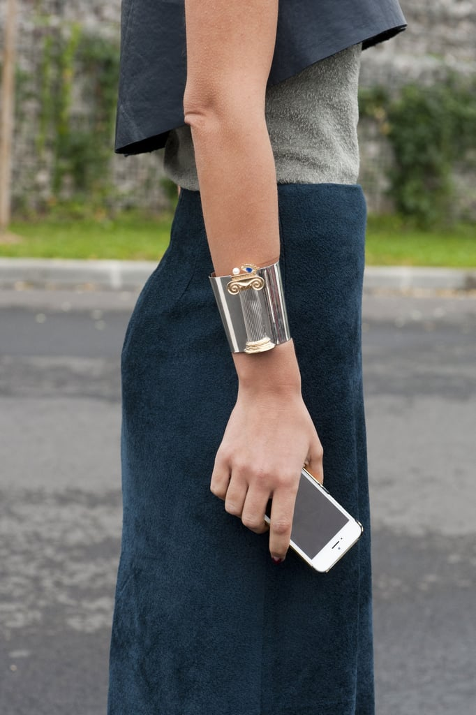 The chicest kind of cuff.