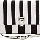 Proenza Schouler Striped Knit and Leather Bag