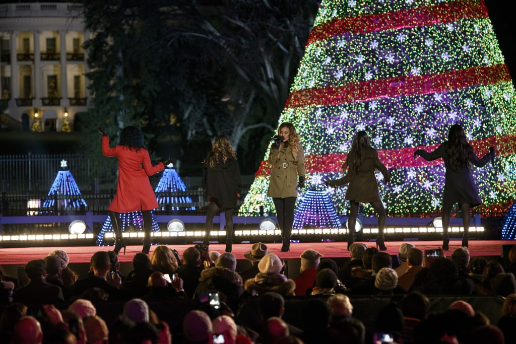 National Christmas Tree Lighting Ceremony 2014 | Pictures - National Christmas Tree Lighting Ceremony 2014 Pictures POPSUGAR