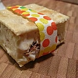 Vanilla Caramel Saltine Ice Cream Sandwiches