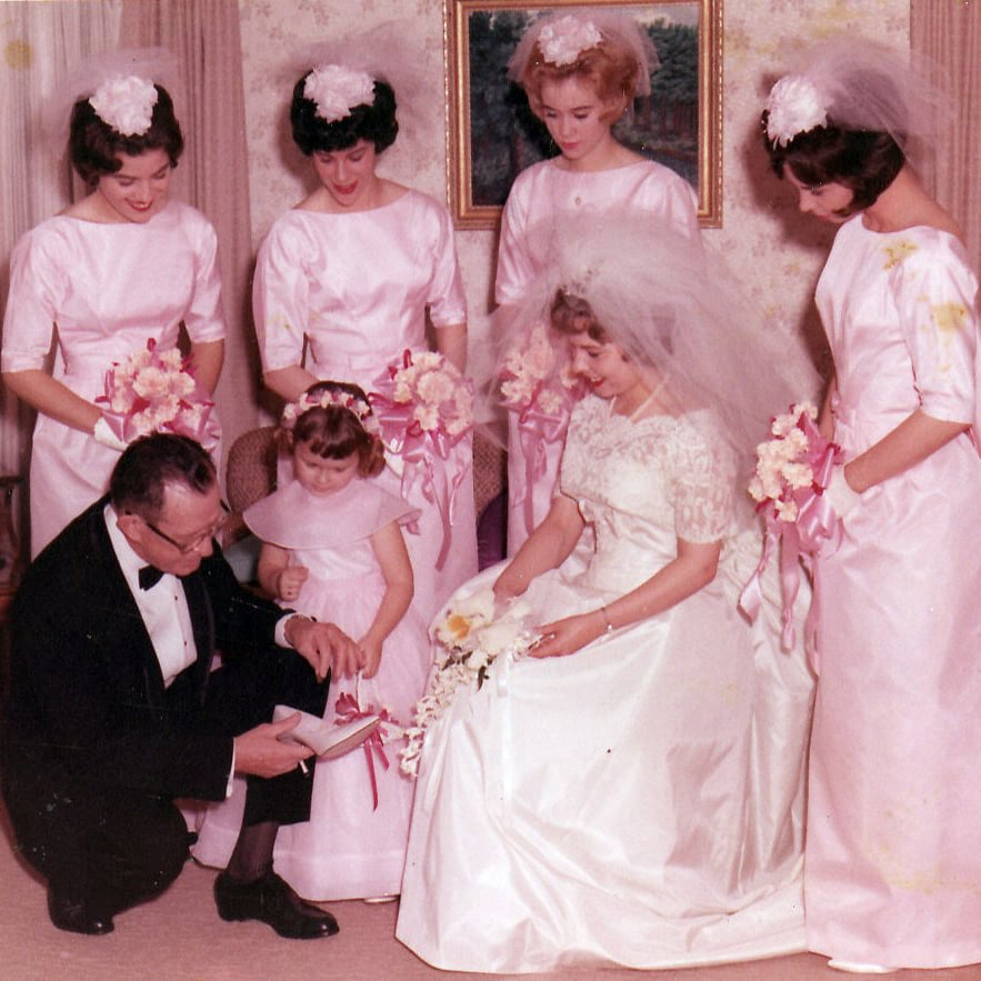 Vintage Bridesmaids Dresses | POPSUGAR Love & Sex