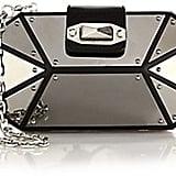 Alexander McQueen Octagonal Mirrored Box Clutch ($2,595)