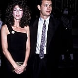 Rita Wilson and Tom Hanks in 1986