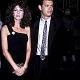 Rita Wilson et Tom Hanks en 1986
