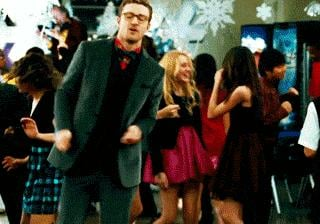 And he pretended he couldn't dance.