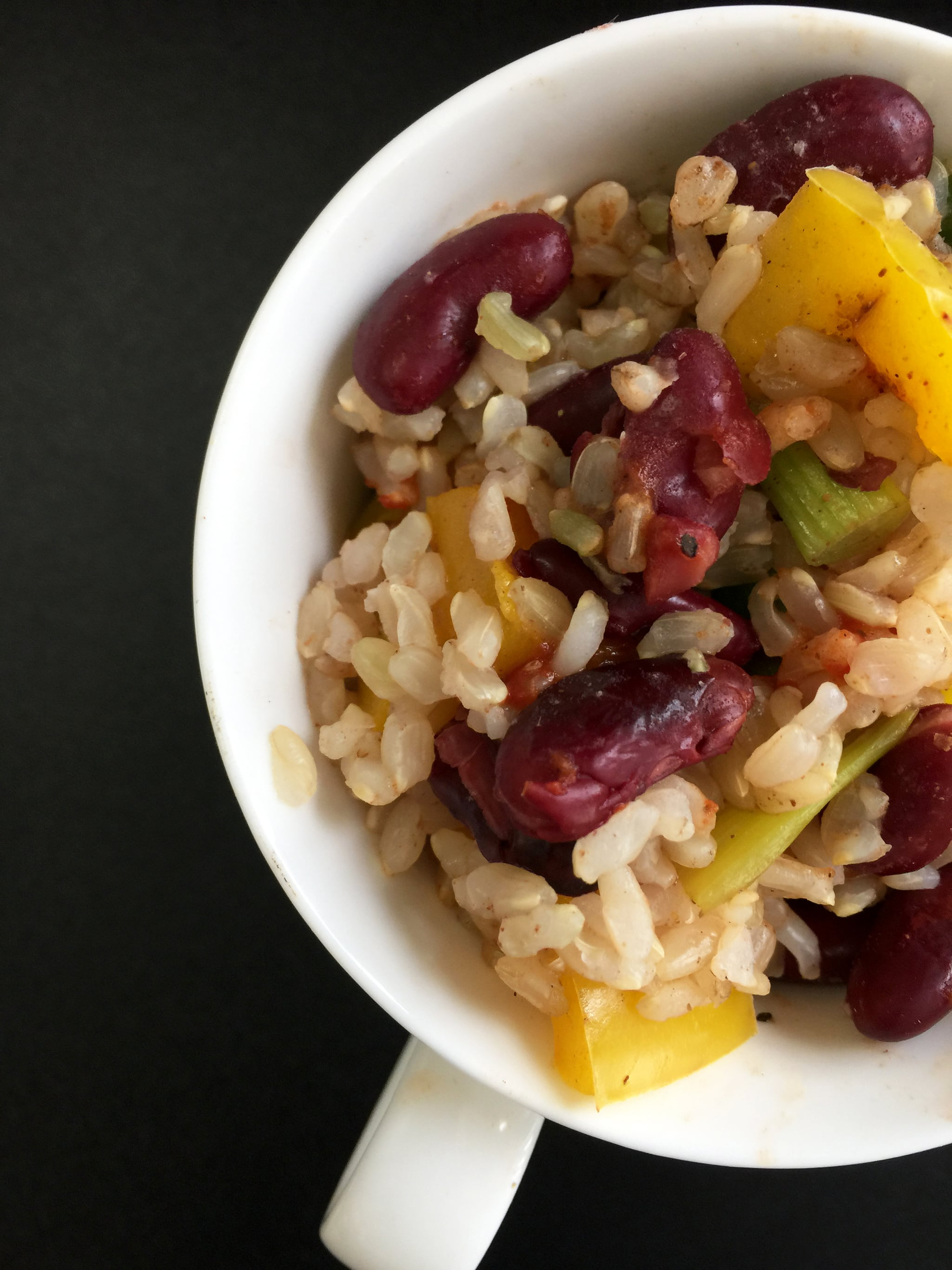Microwaveable mug recipe indian red beans and rice popsugar food forumfinder Choice Image
