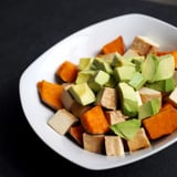 Sweet Potato, Tofu, and Avocado Breakfast