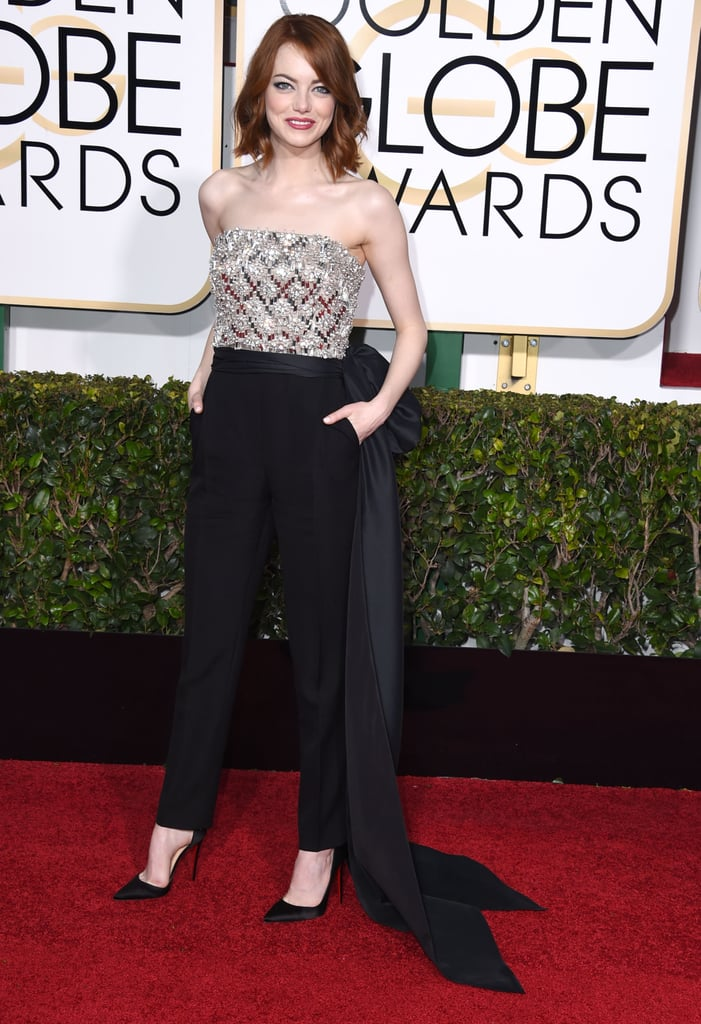 Emma Stone in Lanvin in 2015.