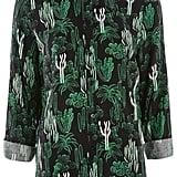 Topshop Cactus print casual shirt ($60)