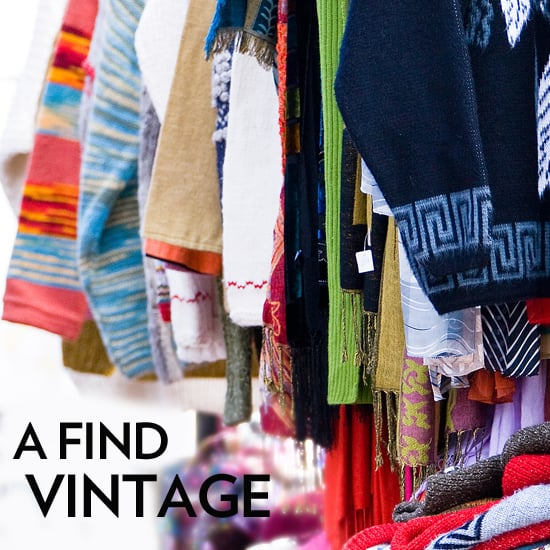 How to Shop For Vintage Clothing, Bags, and Jewelry